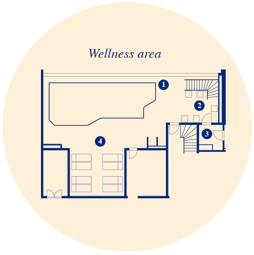 Grundriss Wellness